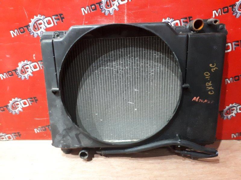 Радиатор двигателя Toyota Estima Emina CXR10G 3C-T 1996 (б/у)