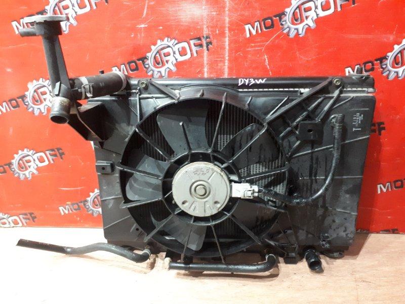 Радиатор двигателя Mazda Demio DY3W ZJ-VE 2002 (б/у)