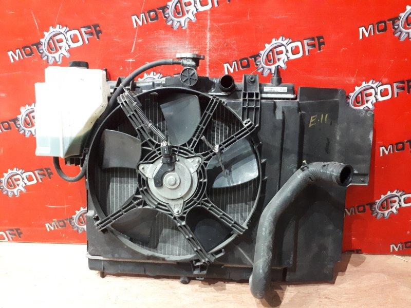 Радиатор двигателя Nissan Note E11 HR15DE 2005 (б/у)
