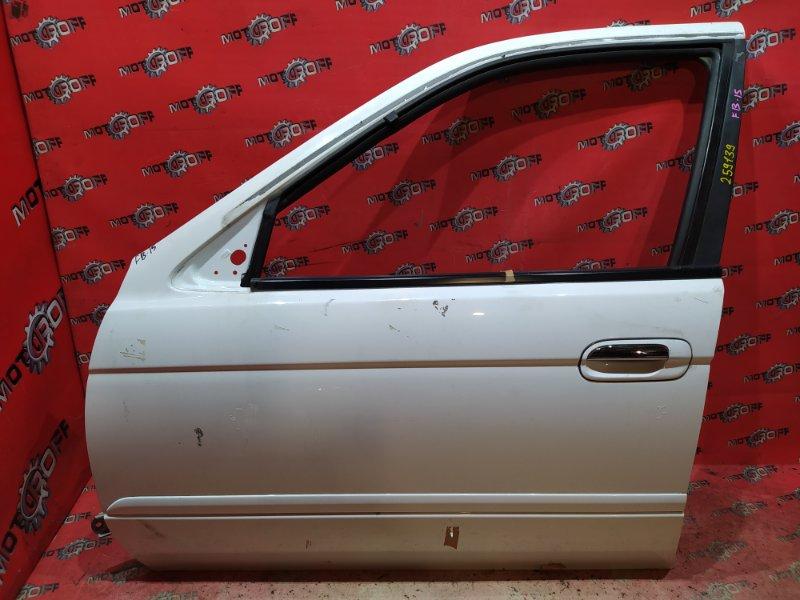 Дверь боковая Nissan Sunny FB15 QG15DE 1998 передняя левая (б/у)