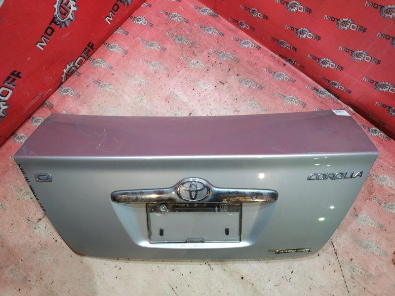 Крышка багажника Toyota Corolla NZE121 1NZ-FE `2000 задняя (б/у)