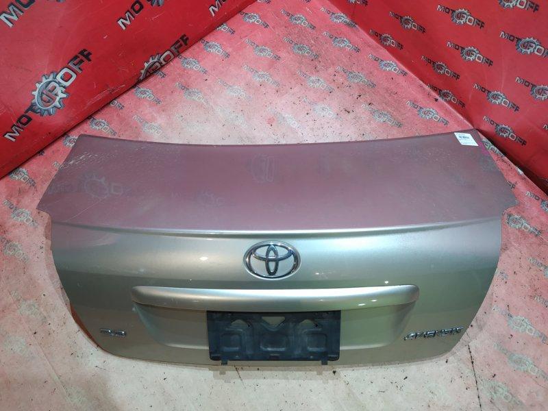 Крышка багажника Toyota Avensis AZT250 1AZ-FSE 2002 задняя (б/у)