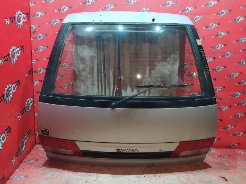 Дверь задняя багажника Toyota Estima Emina CXR10G 3C-T 1996 задняя (б/у)