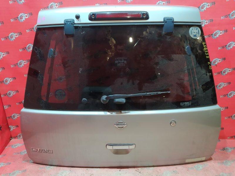 Дверь задняя багажника Nissan Cube AZ10 CGA3DE 1998 задняя (б/у)