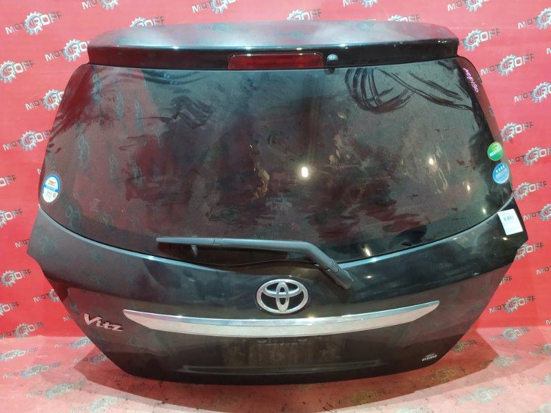 Дверь задняя багажника Toyota Vitz NSP130 1NR-FE 2010 задняя (б/у)