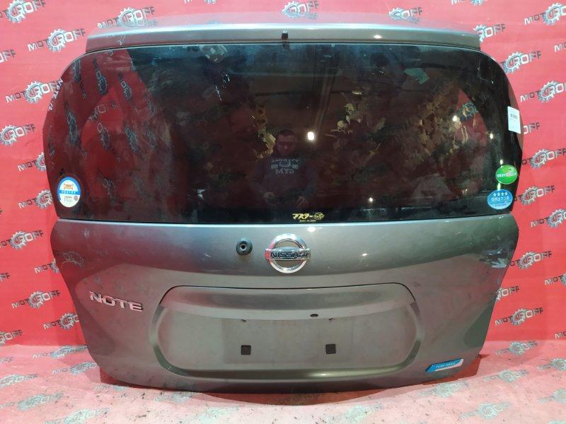 Дверь задняя багажника Nissan Note E12 HR12DE 2012 задняя (б/у)