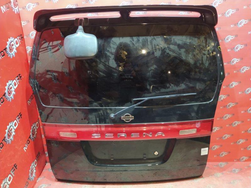 Дверь задняя багажника Nissan Serena PC24 SR20DE 1999 задняя (б/у)