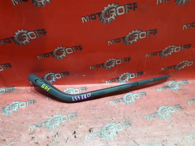 Щетка стеклоочистителя Honda Fit GD1 L13A 2001 задняя (б/у)