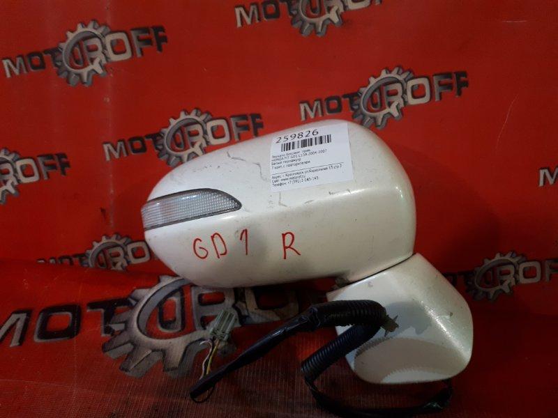 Зеркало боковое Honda Fit GD1 L13A 2004 правое (б/у)
