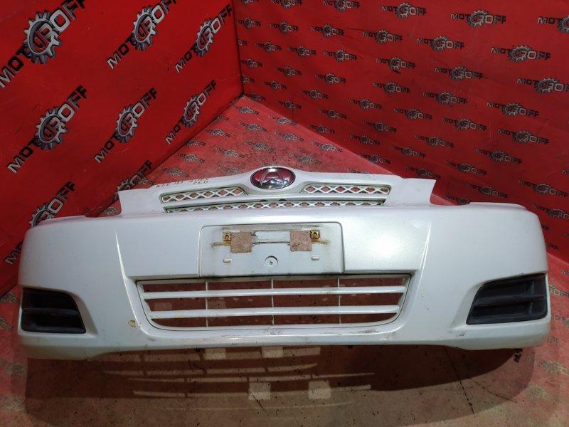 Бампер Toyota Allex NZE121 1NZ-FE 2004 передний (б/у)