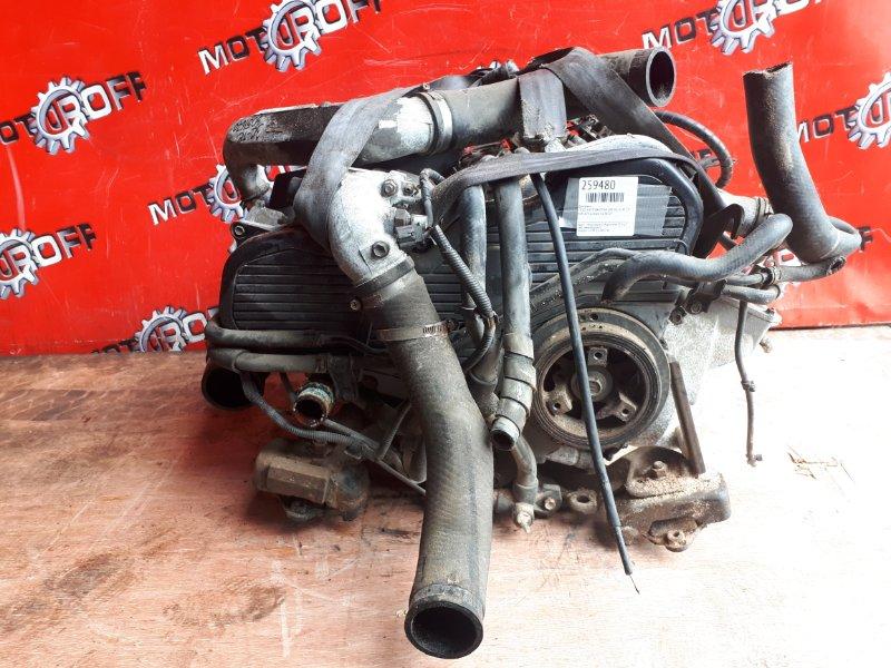 Двигатель Toyota Estima Emina CXR10G 3C-TE 1995 (б/у)