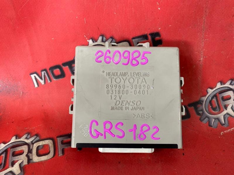 Компьютер (блок управления) Toyota Crown GRS182 3GR-FSE 2003 (б/у)
