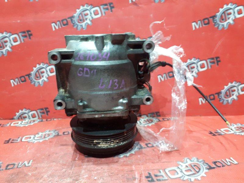 Компрессор кондиционера Honda Fit GD1 L13A 2001 (б/у)