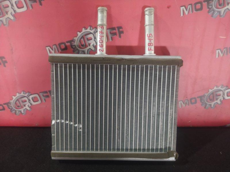 Радиатор отопителя Nissan Sunny FB15 QG15DE 1998 (б/у)