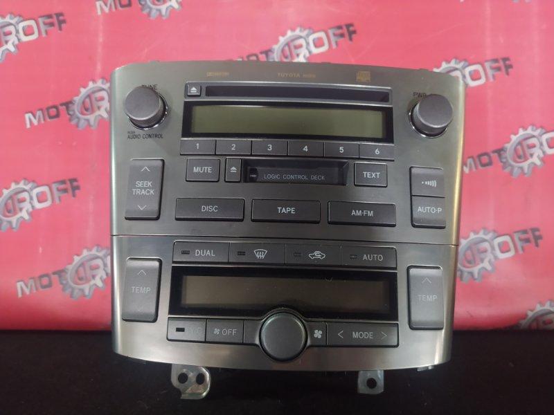Блок управления климат-контролем Toyota Avensis AZT250 1AZ-FSE 2002 (б/у)