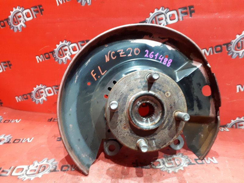 Ступица Toyota Raum NCZ20 1NZ-FE 2003 передняя левая (б/у)