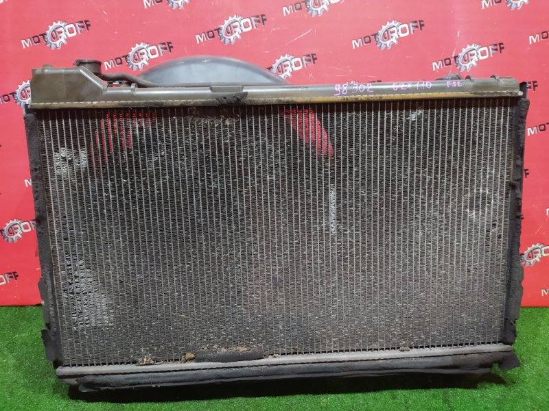 Радиатор двигателя Toyota Mark Ii JZX110 1JZ-FSE 2000 (б/у)