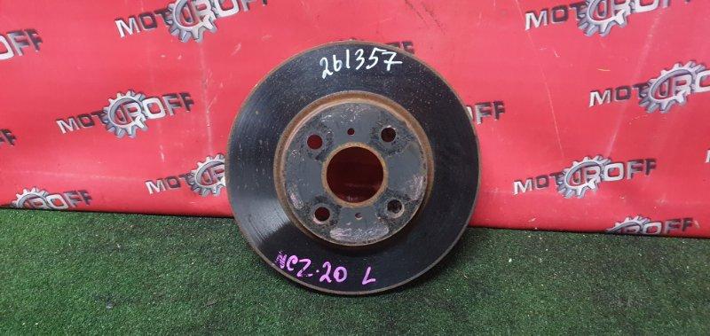 Диск тормозной Toyota Raum NCZ20 1NZ-FE 2003 передний (б/у)