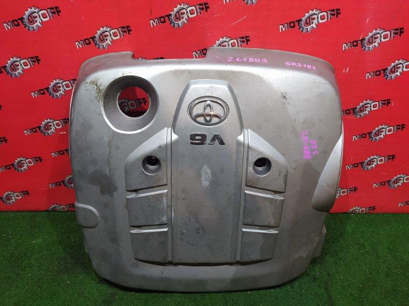 Крышка на двигатель декоративная Toyota Crown GRS182 3GR-FSE 2003 (б/у)