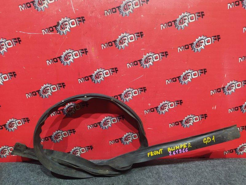 Накладка бампера Honda Fit GD1 L13A 2001 передняя (б/у)