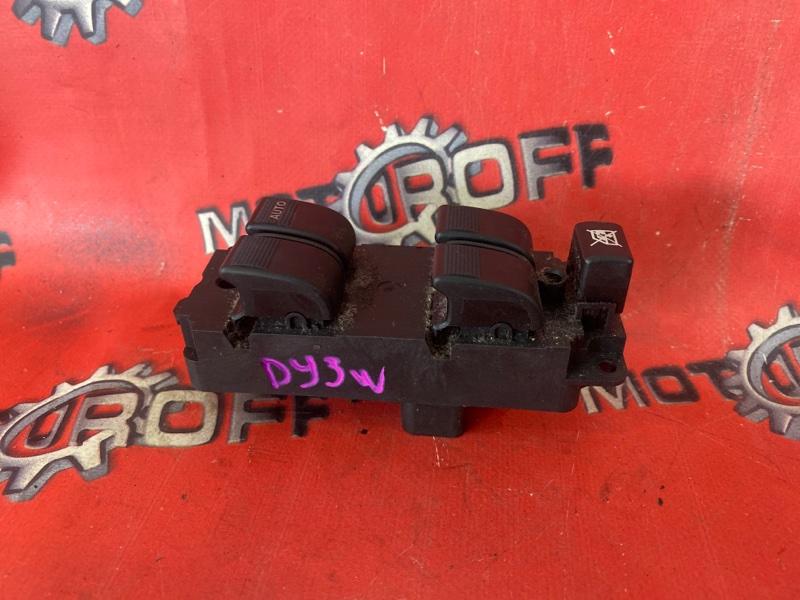 Блок управления стеклоподъемниками Mazda Demio DY3W ZJ-VE 2002 передний правый (б/у)