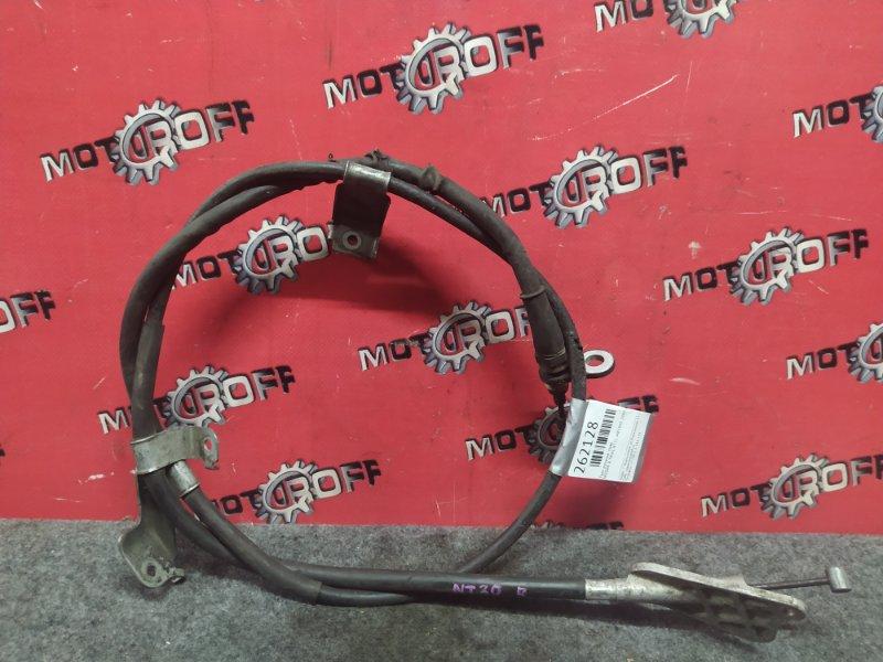 Трос ручника Nissan X-Trail NT31 MR20DE 2007 правый (б/у)
