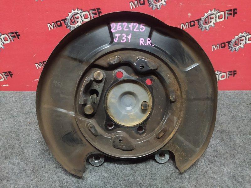 Цапфа Nissan Teana PJ31 VQ23DE 2003 задняя правая (б/у)