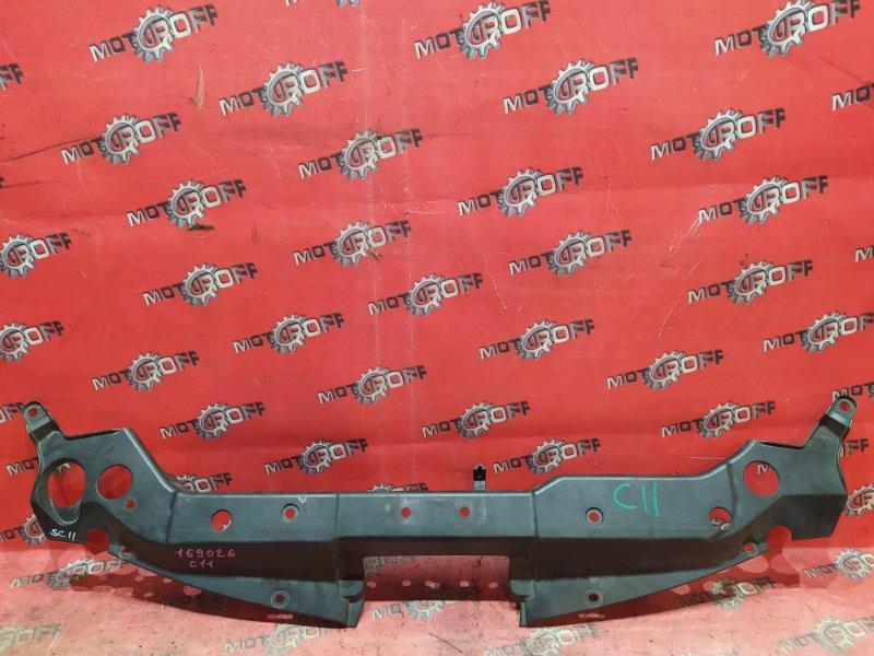 Накладка на решетку радиатора Nissan Tiida C11 HR15DE 2004 (б/у)