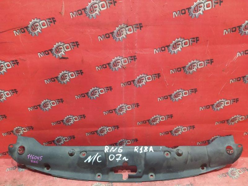 Накладка на решетку радиатора Honda Stream RN6 R18A 2006 (б/у)