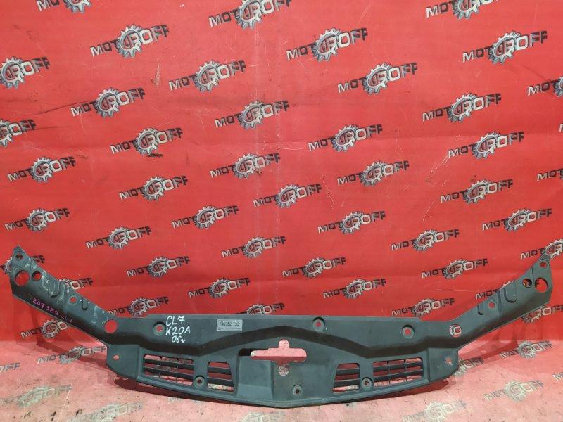 Накладка на решетку радиатора Honda Accord CL7 K20A 2005 (б/у)
