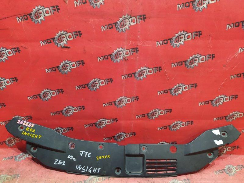 Накладка на решетку радиатора Honda Insight ZE2 LDA 2009 (б/у)