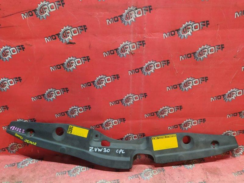 Накладка на решетку радиатора Toyota Prius ZVW30 2ZR-FXE 2009 (б/у)