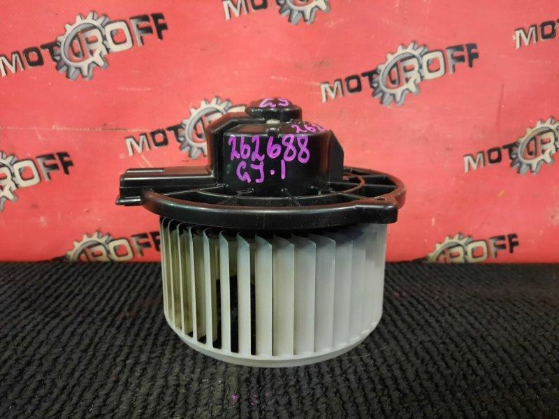 Вентилятор (мотор отопителя) Honda Airwave GJ1 L15A 2005 (б/у)