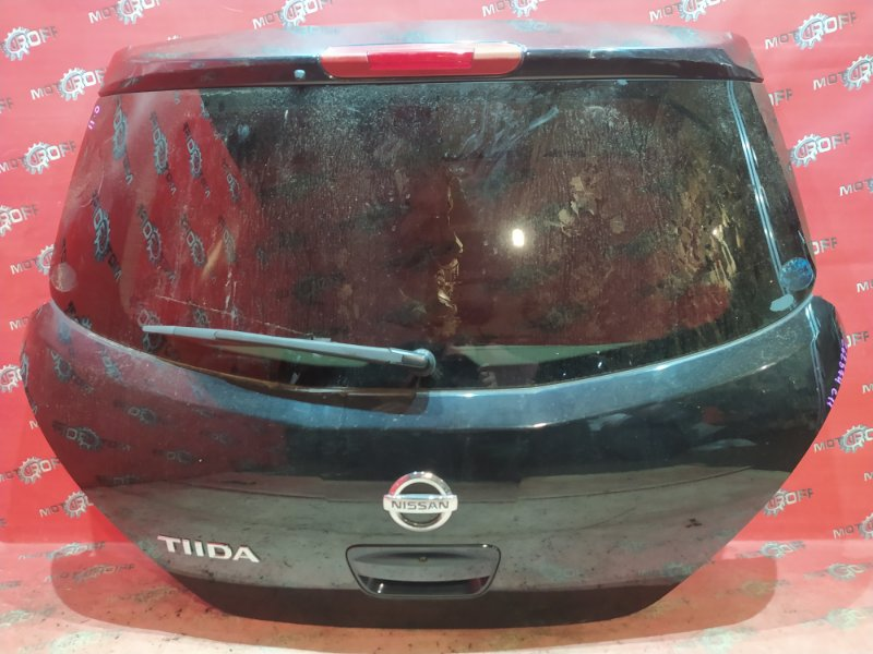 Дверь задняя багажника Nissan Tiida C11 HR15DE 2004 задняя (б/у)