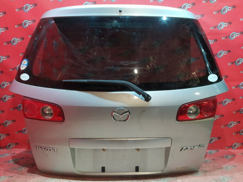 Дверь задняя багажника Mazda Demio DY3W ZJ-VE 2005 задняя (б/у)