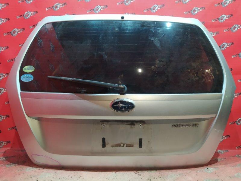 Дверь задняя багажника Subaru Forester SG5 EJ20 2005 задняя (б/у)