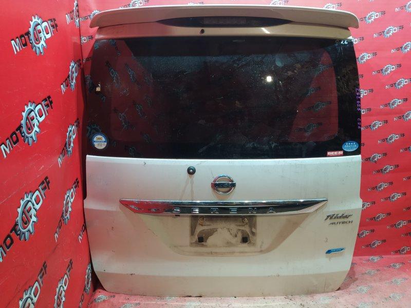 Дверь задняя багажника Nissan Serena C26 MR20DD 2010 задняя (б/у)