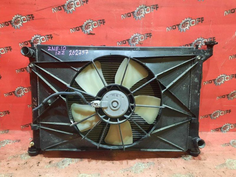 Радиатор двигателя Toyota Wish ZNE10G 1ZZ-FE 2003 (б/у)