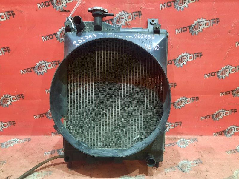 Радиатор двигателя Mitsubishi Pajero Mini H56A 4A30-T 1994 (б/у)