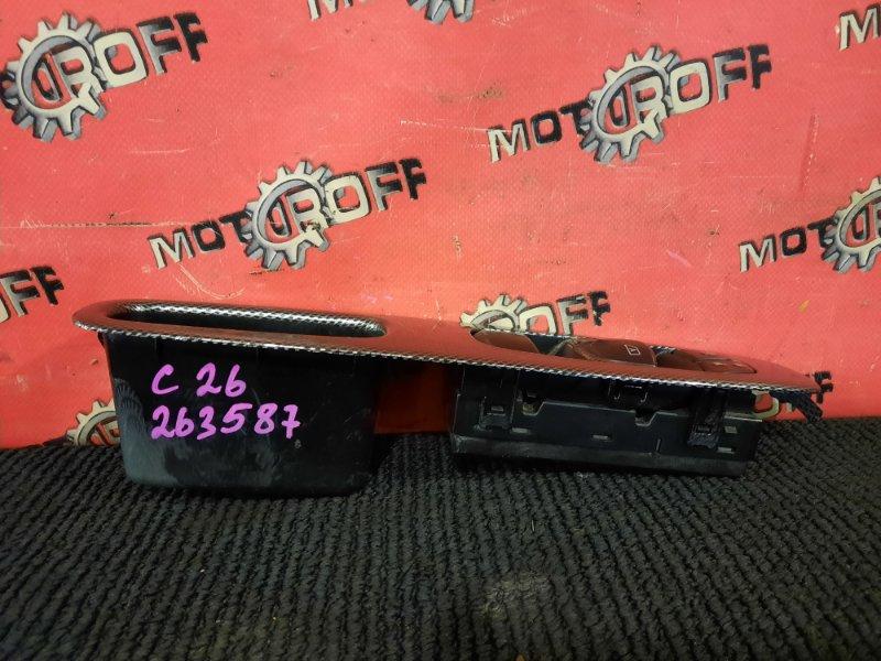 Блок управления стеклоподъемниками Nissan Serena C26 MR20DD 2010 правый (б/у)