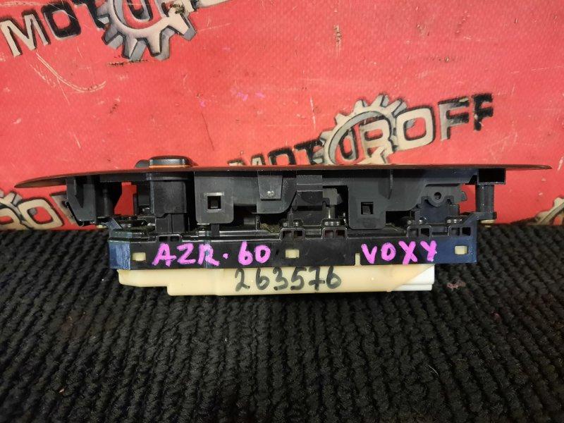 Блок управления стеклоподъемниками Toyota Voxy AZR60G 1AZ-FSE 2001 правый (б/у)