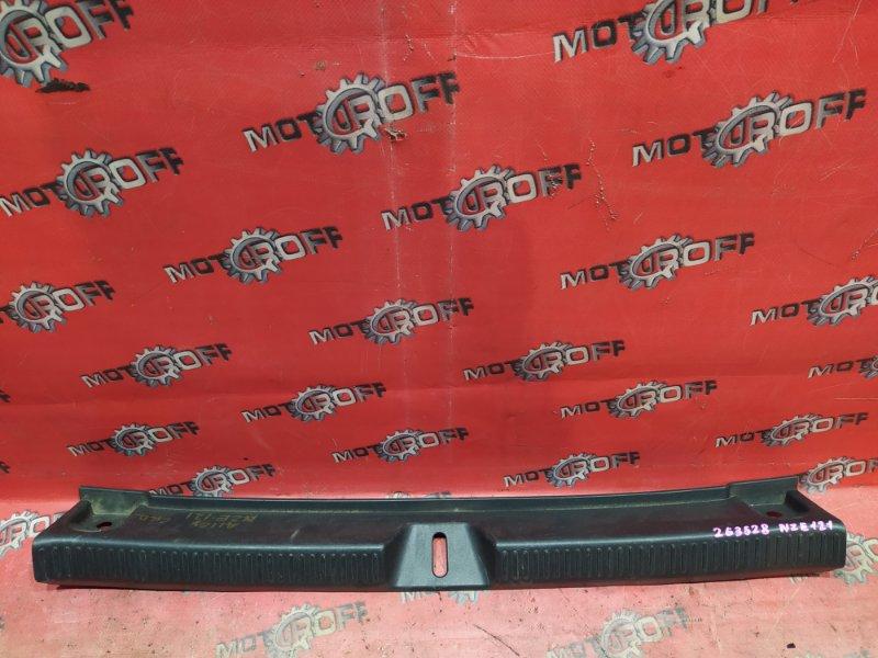 Накладка багажника Toyota Allex NZE121 1NZ-FE `2001 (б/у)