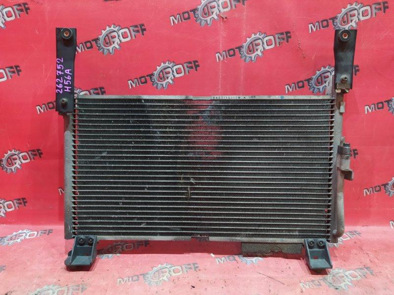 Радиатор кондиционера Mitsubishi Pajero Mini H56A 4A30-T 1994 (б/у)