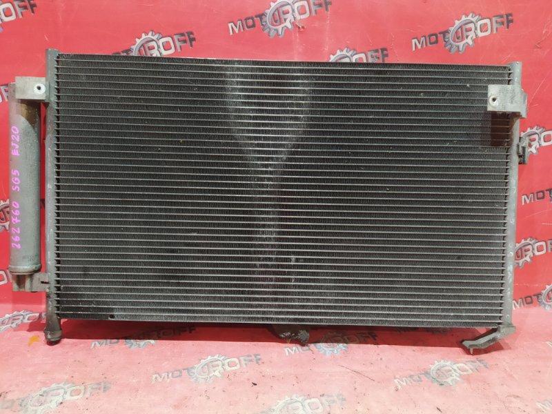 Радиатор кондиционера Subaru Forester SG5 EJ20 2004 (б/у)