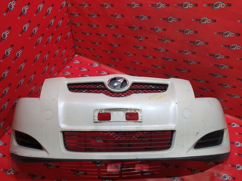Бампер Toyota Auris NZE151H 1NZ-FE 2006 передний (б/у)