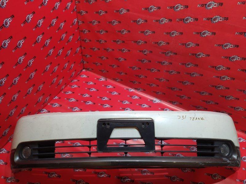 Бампер Nissan Teana J31 VQ23DE 2003 передний (б/у)
