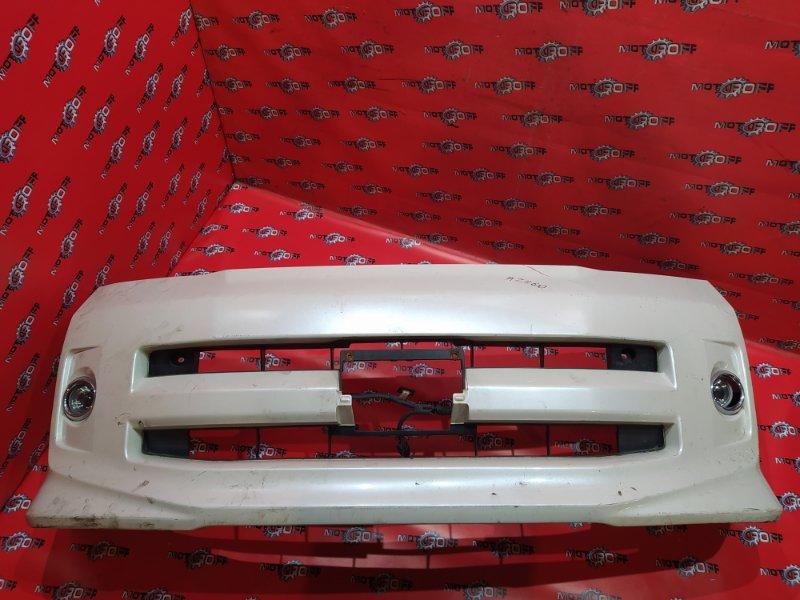 Бампер Toyota Voxy AZR60G 1AZ-FSE 2001 передний (б/у)