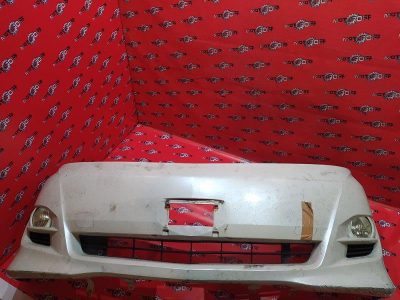 Бампер Toyota Alphard ANH10W 2AZ-FE 2002 передний (б/у)
