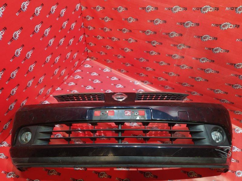 Бампер Nissan Tiida C11 HR15DE 2004 передний (б/у)