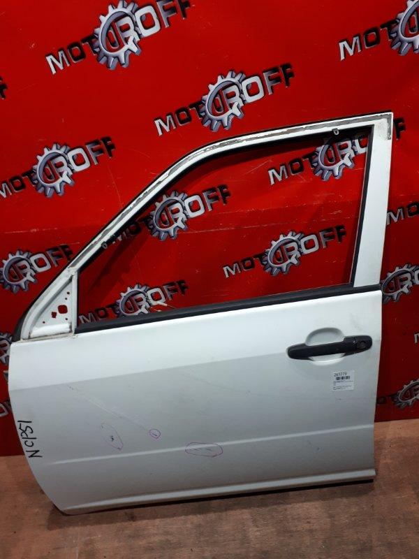 Дверь боковая Toyota Probox NCP51V 1NZ-FE 2002 передняя левая (б/у)